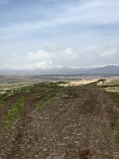 Secundaire wegen in Georgië.