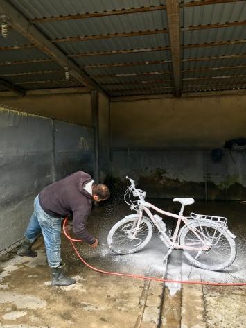 Gratis fiets laten kuisen.