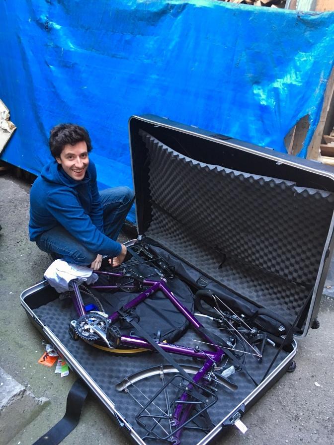 Robbe on a bike!
