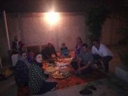 Dinner bij Amir.