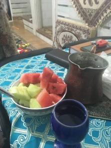 Meloen en overheerlijke limonade!