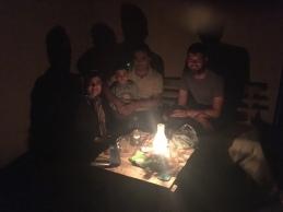 Gezellige avond in Shahrud.
