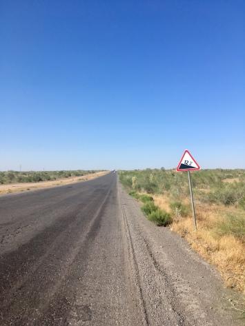 Standaard hellingen zijn 12% in Turkmenistan :)