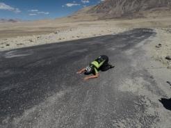De liefde voor asfalt.