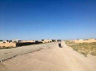 Klein Oezbeeks dorp.