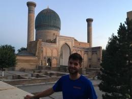 Nacho in Samarkand.