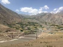 Brug Afghanistan-Tadjikistan.