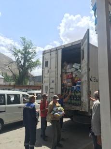 Transport van voeding.