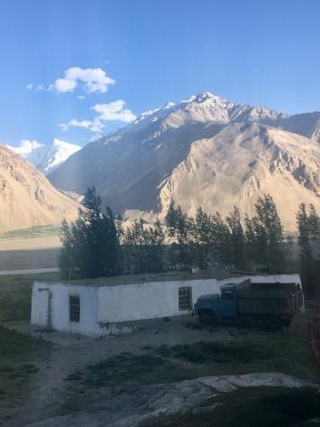 Wakhan: witte bergen in Afghanistan.