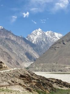 Afghani mountains.