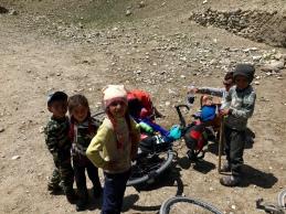 Kinderen in de Wakhan.