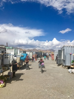 Containermarkt in Murghab.
