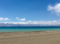 Karakul lake.