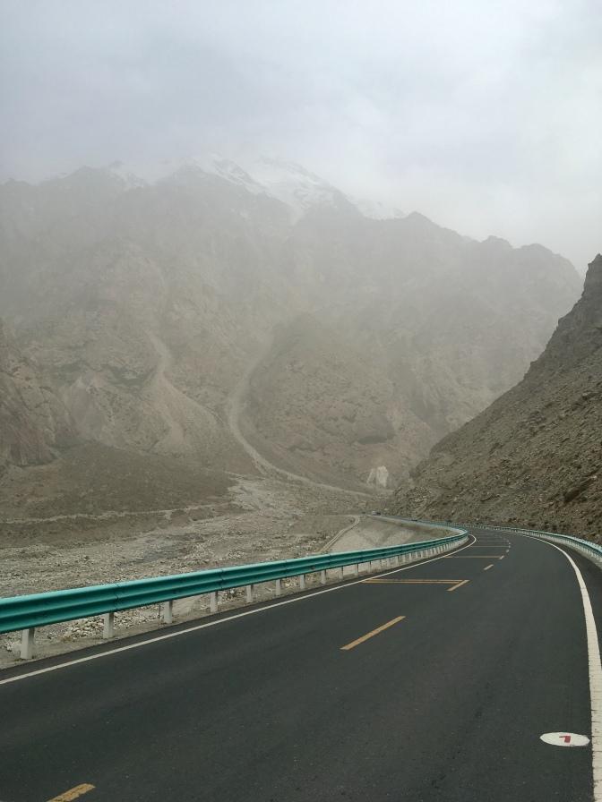 KKH richting Tashkurgan.