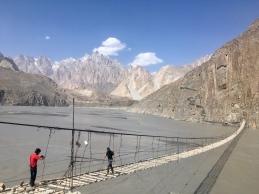 Husseini suspension bridge.