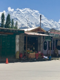 Shop in Aliabad.