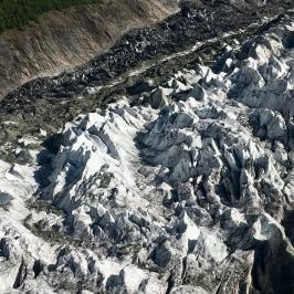 Rakaposhi glacier.