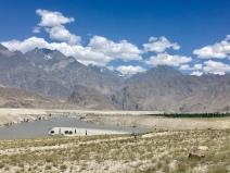 Indus rivier, Skardu.