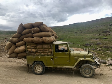 Transport van goederen.