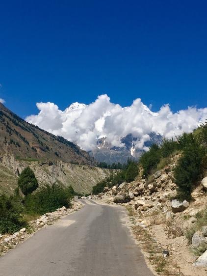 Eerste zichten op Nanga Parbat.