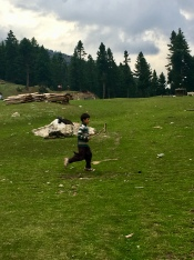 Polo spelen in Fairy Meadows.