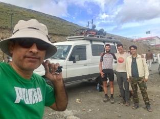 van Kamran, naar de Babusar top.