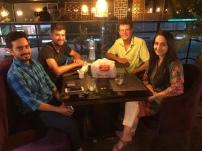 Met Maryam, Aun en David in Lahore.
