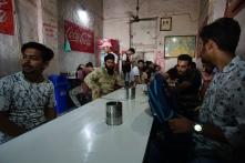 Ontbijt in Amritsar.