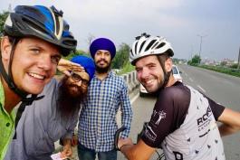 Eerste selfie in India!