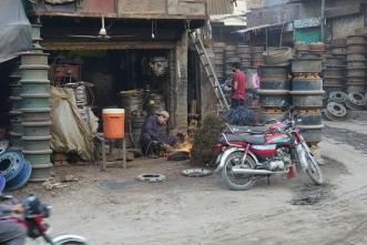 Werkmannen - Lahore.