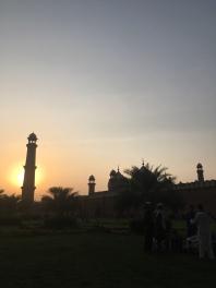Badshahi mosque (Lahore).