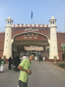 David aan de Wagah border.