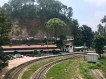 Treinspoor Kalka - Shimla.