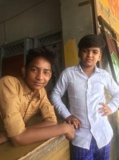 Indische kinderen.