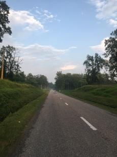 Eerste kilometers in Nepal.