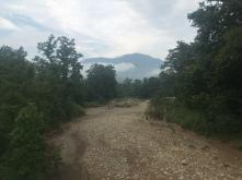 De eerste heuvels.