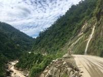 Road to Pokhara.