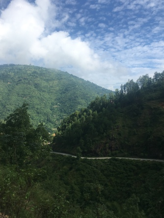 Road to Pokhara.