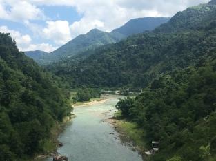 Richting Pokhara.