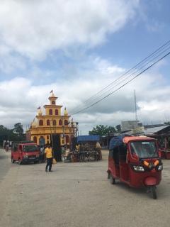 Tijdelijke hindu feest 'tempel'?