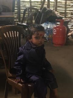 Nepalees meisje.