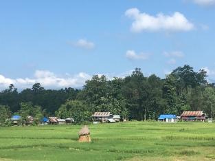 Bardibas - grens India.