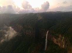 Nohkalikai falls.