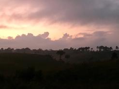 Weer een mooie zonsondergang.