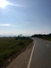 Het einde van de heuvels richting Silchar is in zicht.