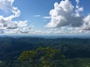 Tijdens de beklimmingen word ik belonond met schitterende uitzichten.