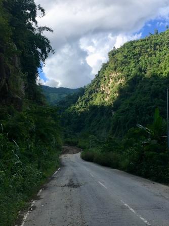 Schitterende route (Silchar - Nungba).