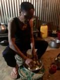 Mijn gastheer in Nungba.