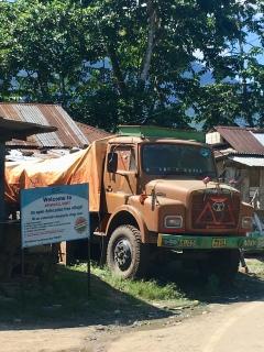 An open defecation free village!