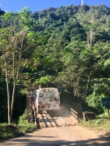 Bussen en bruggen.